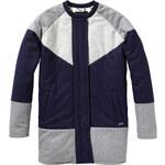Maison Scotch Cocoon patchwork coat