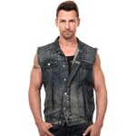 R-NEAL Jeansweste Slim fit