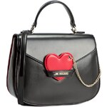 Kabelka LOVE MOSCHINO - JC4046PP11LD100A Nero/Rosso