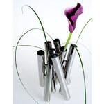 BlackBox - Váza Seven - stříbrná