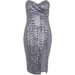 Topshop **Cirilla Strapless Sequin Dress by TFNC