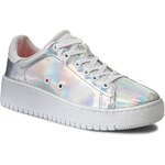 Sneakersy CALVIN KLEIN JEANS - Flash RE9575 Silver