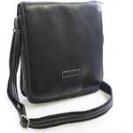 Černo-šedá taška přes rameno Hexagona 409110 černá