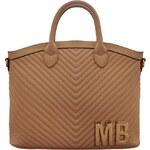 Kvalitní dámská kabelka Mia Bag - víc barev, Barva Béžová
