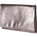 Abro Kleine Leder Clutch in Metallic-Optik