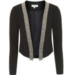 Topshop **Start No Fight - Black Jacket With Silver Trims by WYLDR