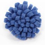 Ozdoba do klopy od Jollylapel - modrá, filcová