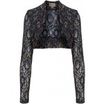 Lindy Bop Bolero Midnight Blue Gold Lace 48-50
