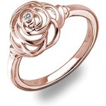 Hot Diamonds Prsten Eternal Rose Gold DR124 59 mm