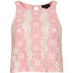Topshop Pretty Lace Vest