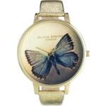 Olivia Burton Woodland Metallic Butterfly Watch