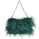 Topshop Premium Feather Shoulder Bag