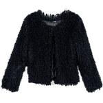 Venca Krátký kabát černá