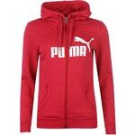 Puma No1 Logo Full Zip Hoody Womens, pink