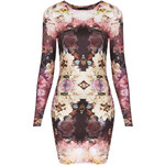 Topshop Mirror Bloom Bodycon Dress