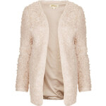 Topshop **Madison Faux Fur Jacket by Goldie