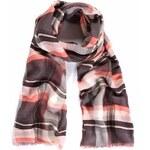 Mixone Luxusní šátek Kare Rare Pink