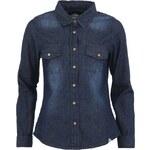 Dámská tmavší džínová košile Bellfield Jordan