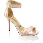SMH sandál na podpatku
