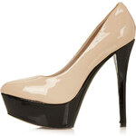 Topshop SOLAR Patent Platform Shoes