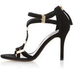 Topshop **Harleigh Metal Tab Single Sole Sandals by Dune