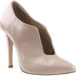 Baťa Dámské boty na jehlových podpatcích v tělové barvě