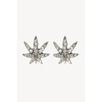 "Tally Weijl Silver ""Hash"" Embellished Ear Studs"