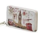 Mixone Stylová peněženka London Print II