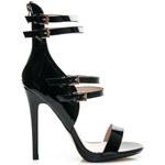 BOTINELLI Sexy dámské černé sandálky, vel. 36