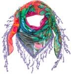 Desigual barevný šátek Triangle Sumatra