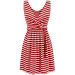 streetIN Dámské šaty - červeno-bílá Velikost: Univerzální
