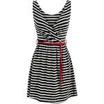 streetIN Dámské šaty - černo-bílá Velikost: Univerzální