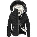 streetIN Dámská zimní bunda - černá Velikost: 2XL