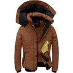 streetIN Dámská zimní bunda - hnědá Velikost: L