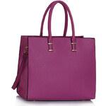 LS fashion LS dámská kabelka 319 fialová