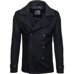 Hoody Pánský kabát - černá Velikost: XXL