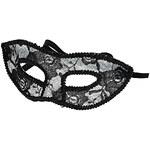 Topshop Black Lace Face Mask