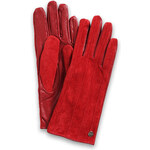 Esprit mixed leather gloves
