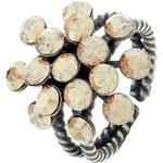 Konplott MAGIC FIREBALL Ring beige crystal