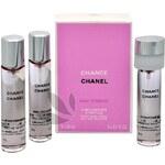 Chanel Chance Eau Tendre - toaletní voda s rozprašovačem - náplň (3 x 20 ml) 60 ml