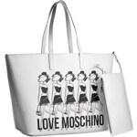 Kabelka LOVE MOSCHINO - JC4308PP01KT0100 Bianco