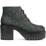 H&M Vzorované boty na platformě