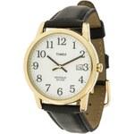 Timex T2H291 Uhr schwarz/goldfarben