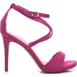 BELLE WOMEN Nádherné fuschiové dámské sandály