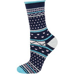 SOXO Dámské tmavě modré ponožky Nasta