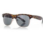 Rayflector Tmavě hnědé sluneční brýle Siss