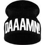 UFG Černo-bílá čepice Daaamn