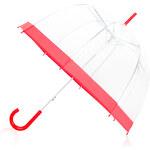 Tom&Eva Transparentní deštník Red Flow