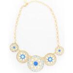 Bijou Modrý náhrdelník Fabula