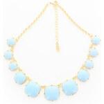 Bijou Světle modrý náhrdelník Olina